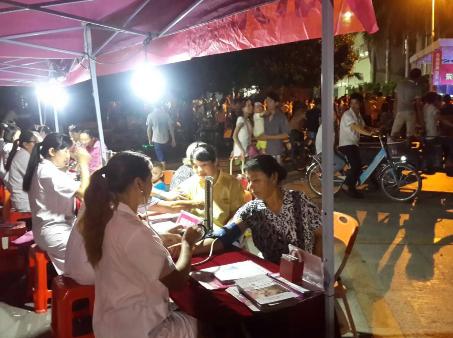 东莞现代妇产医院举办关爱女性健康社区行茶山站.公益晚会
